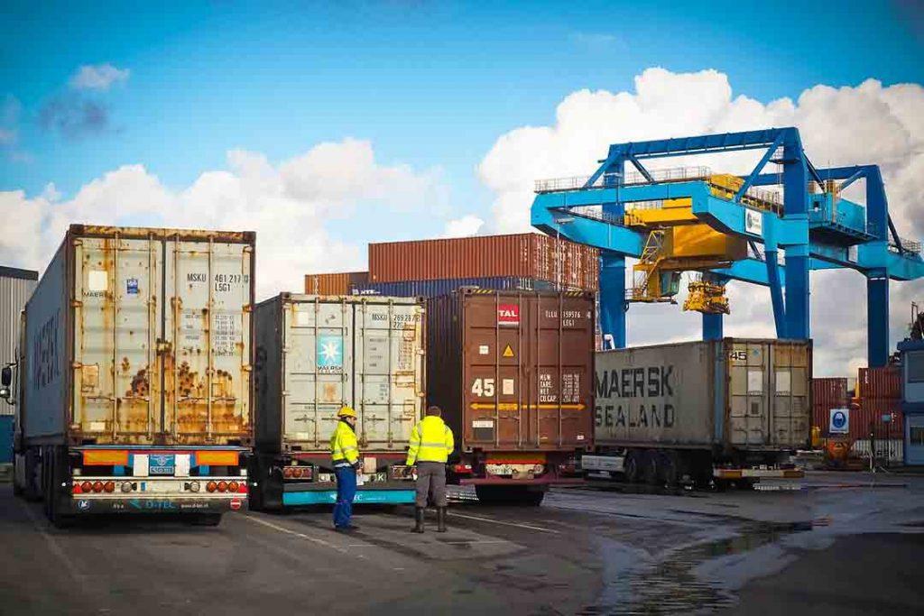 transporte para contenedores