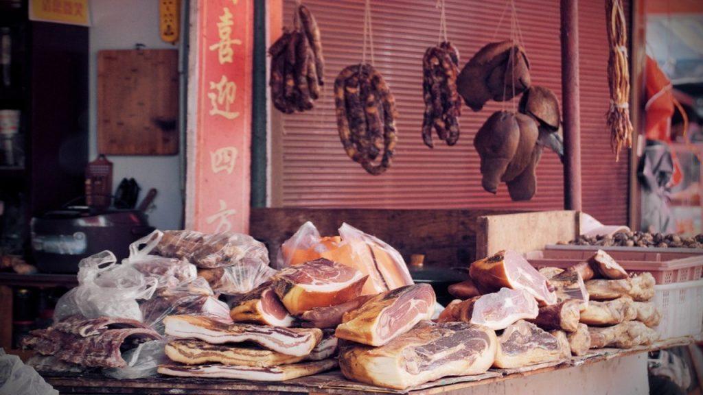 exportaciones de carne a China