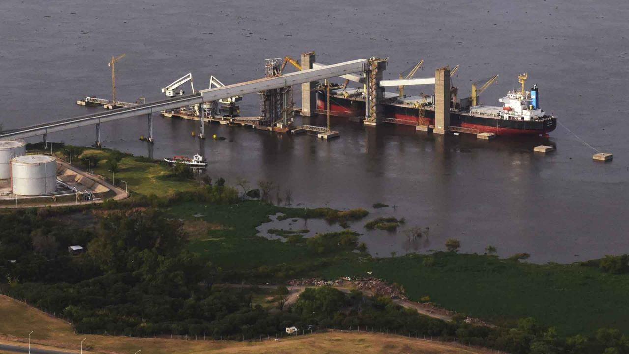 principales puertos de Argentina